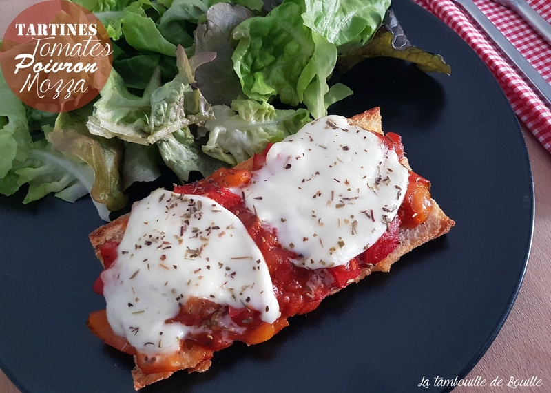 recette-tartine-facile-tomate-poivron