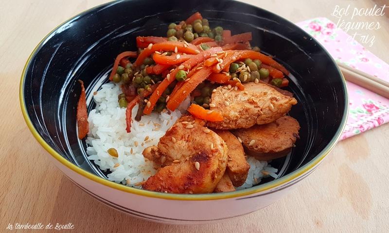 recette-poulet-legumes-sautés-satay-riz-graines-lin