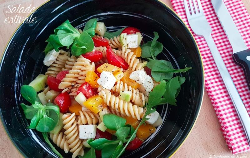 salade-pates-légumio-bonduelle-feta-poivron-courgette-tomate-mache